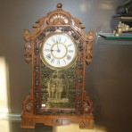 Ansonia clock co parlour clock