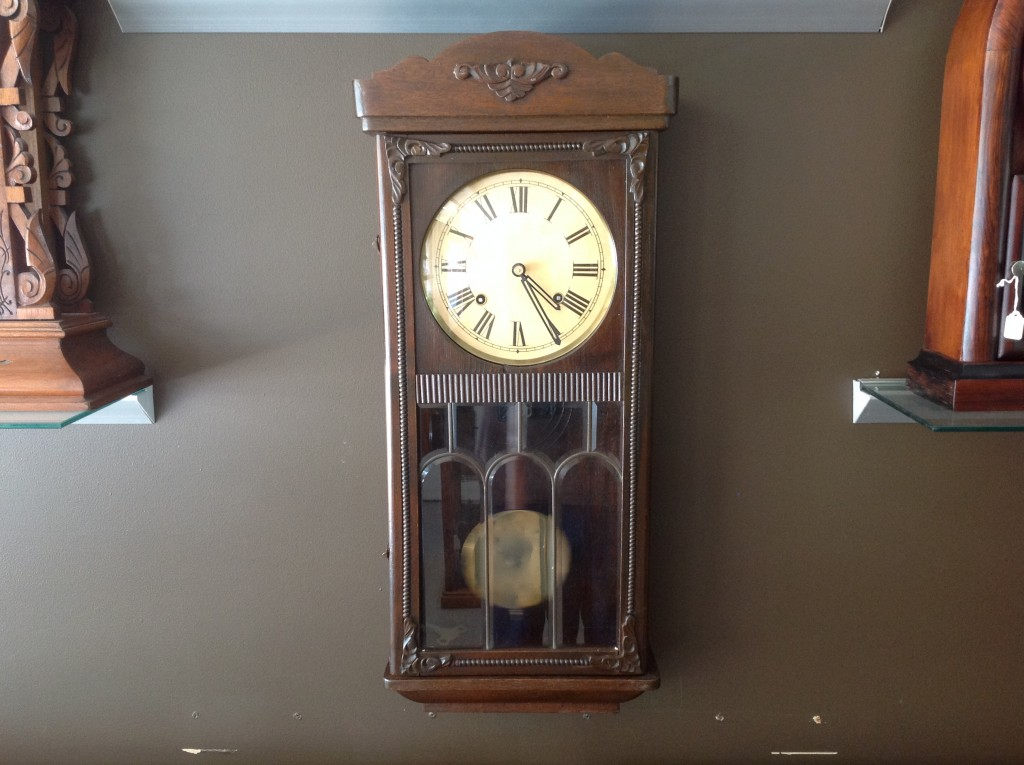 Art Deco Wall Clock Cog And Hand